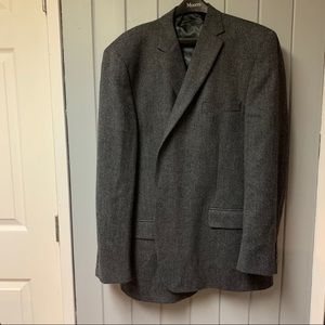 Austen reed grey and black suit jacket